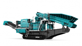Powerscreen mobile Brechanlag XV350